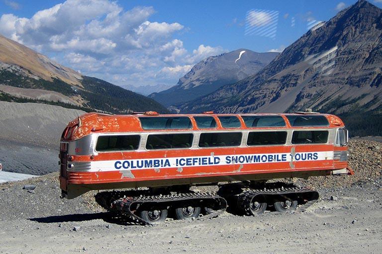 Canada - Athabasca Glacier - Columbia Icefield