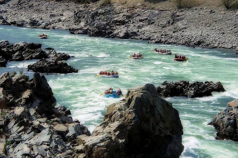 Canada - Athabasca Rafting
