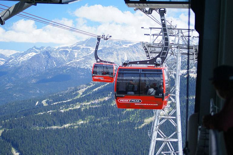 Canada - Whistler Peak 2 Peak Gondola