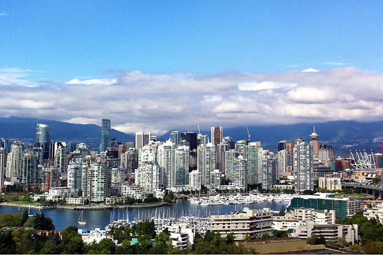 Canada - Vancouver City Skyline
