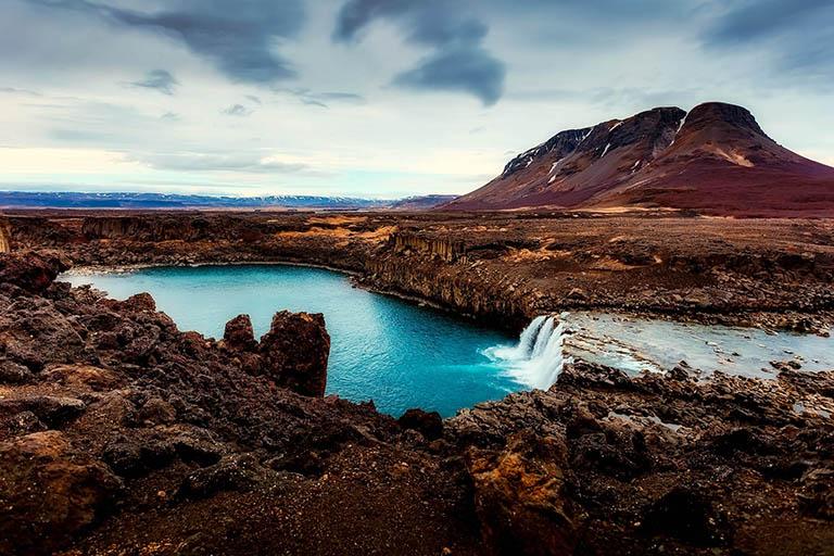 Iceland - Goðafoss Waterfall
