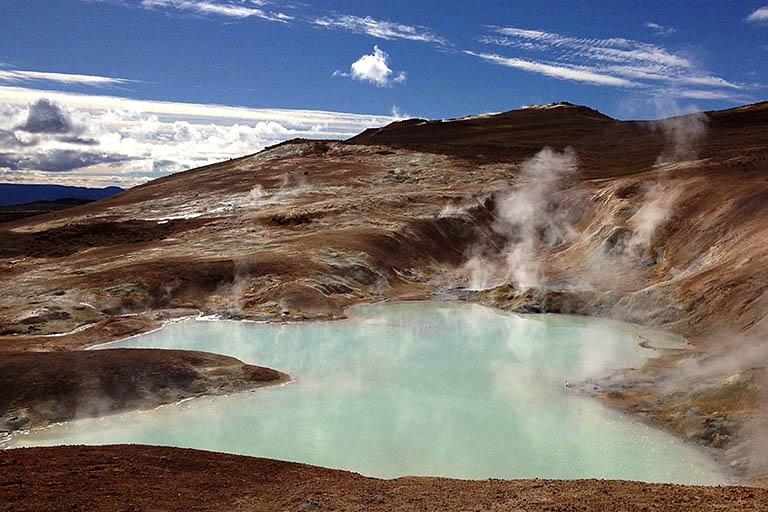 Iceland - Hot Spring Geothermal Pool