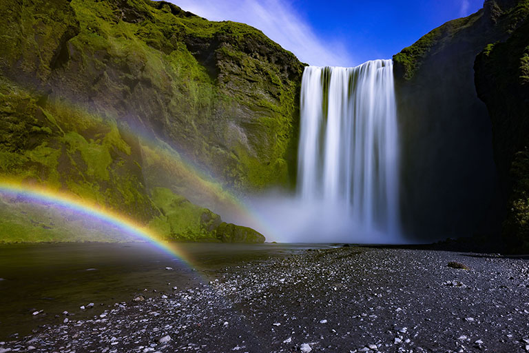 Iceland - Skógafoss Waterfall