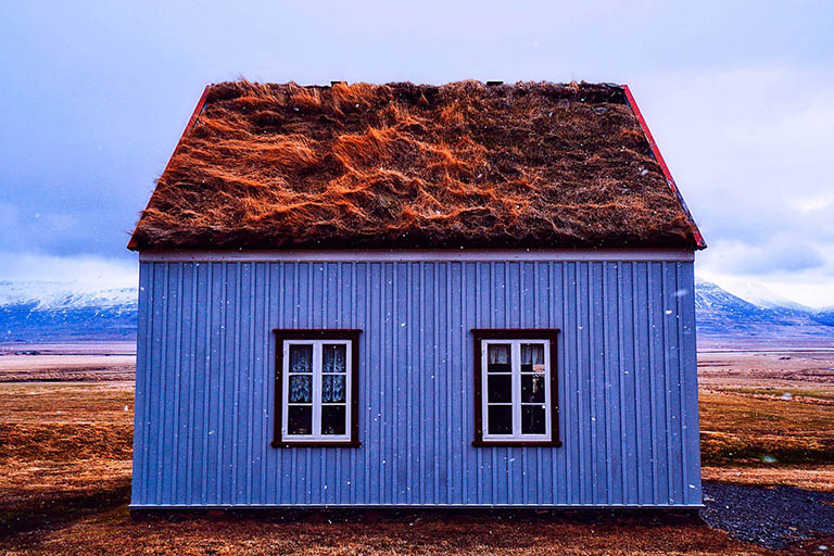 Iceland - Turf House