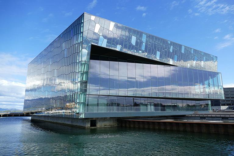 Iceland - Reykjavik - Harpa Concert Hall