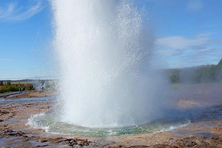 Iceland - Geysir Geothermal Area