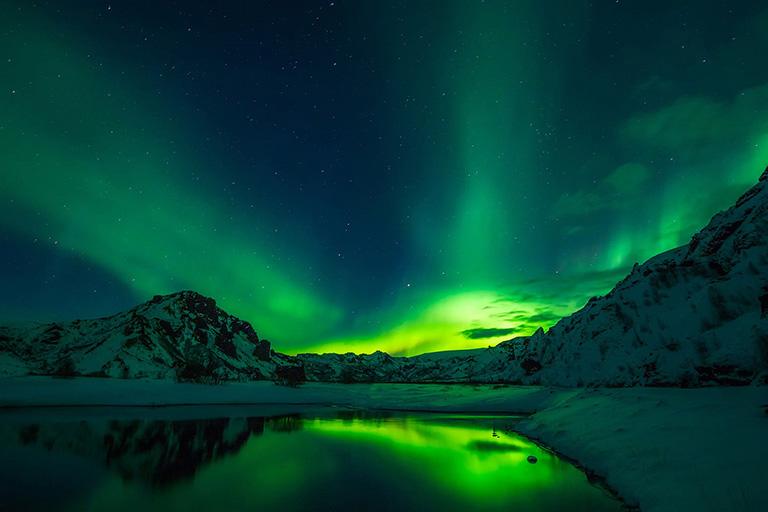 Iceland - Northern Lights Aurora Borealis