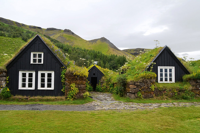Iceland - Icelandic Turf House