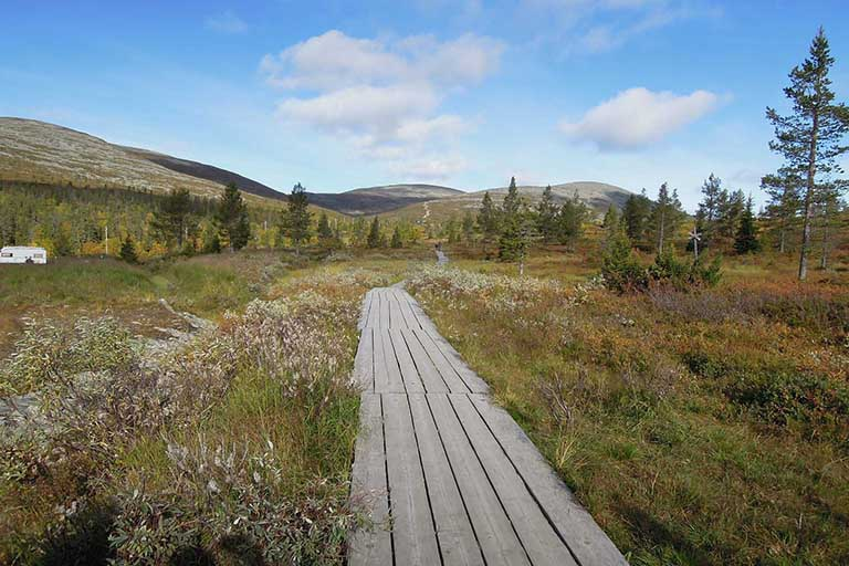Finland Lapland - Oulanka National Park - Pieni Karhunkierros Hiking Trail