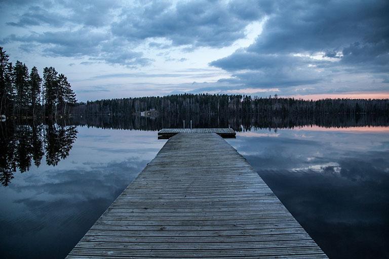 Finland Lapland - Lakeland