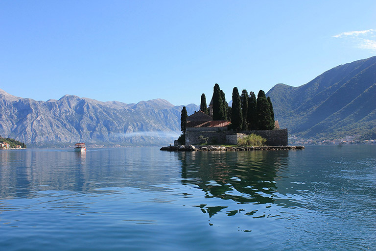 Montenegro - Perast - Our Lady of the Rock