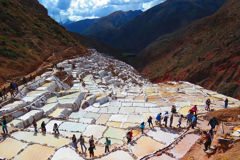 Peru - Sacred Valley Maras Salt Pans