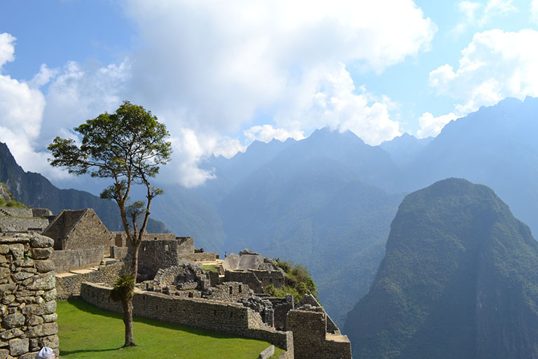 Peru - Machu Picchu Mountain View