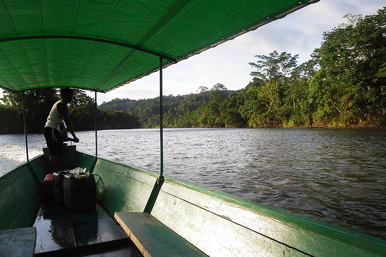 Peru - Amazon River Transport Boat