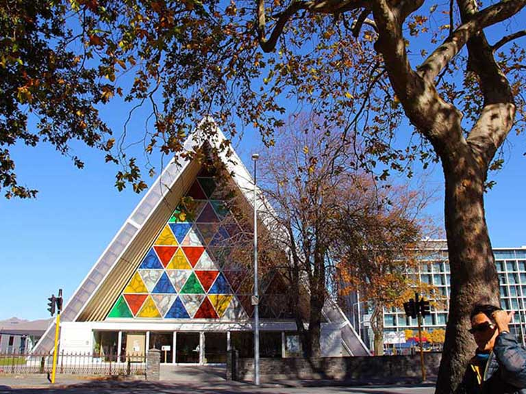 New Zealand - Christchurch - Cardboard Cathedral