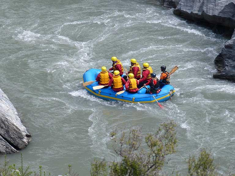 New Zealand - White-Water Rafting