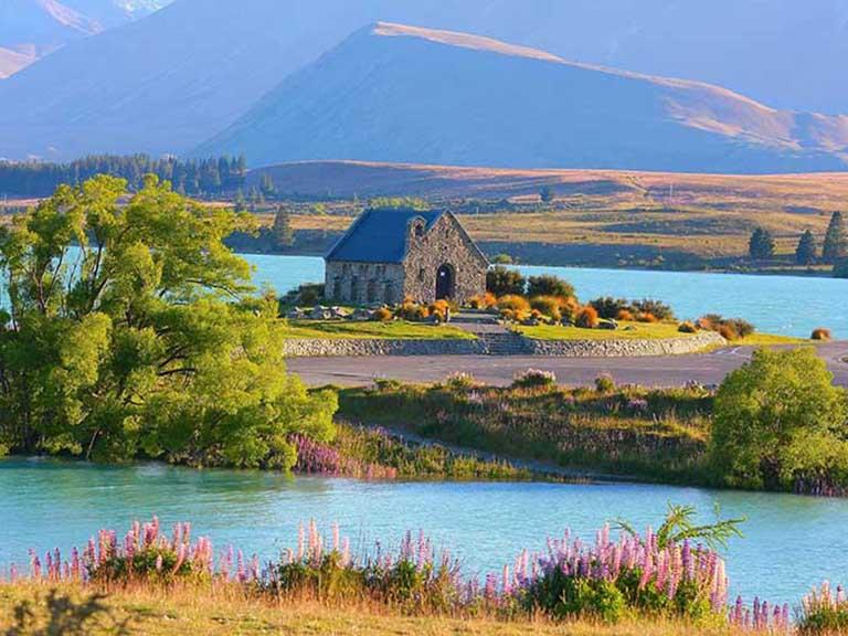 New Zealand - Lake Tekapo