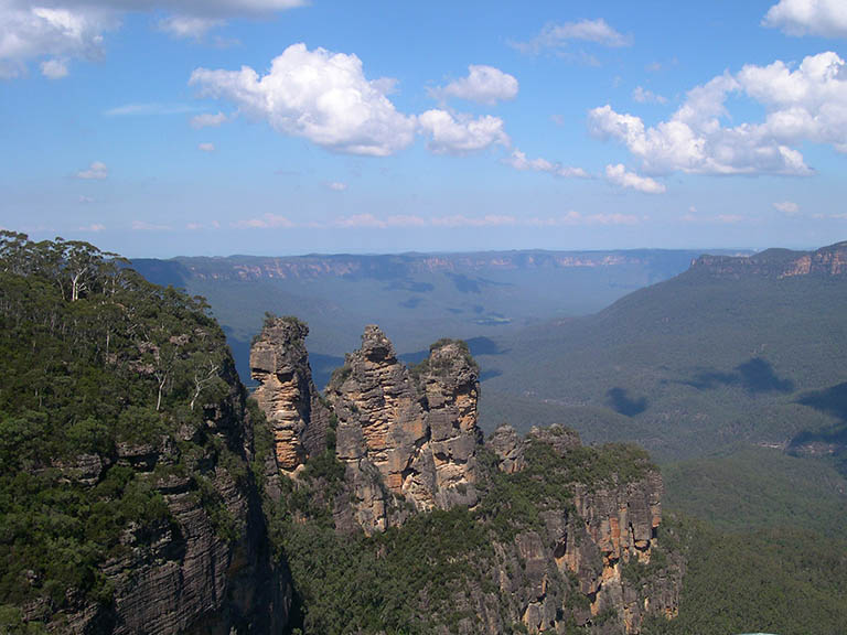 Australia - Blue Mountains - Three Sisters