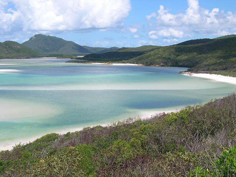 Australia - Whitsunday Islands - Whitehaven Beach