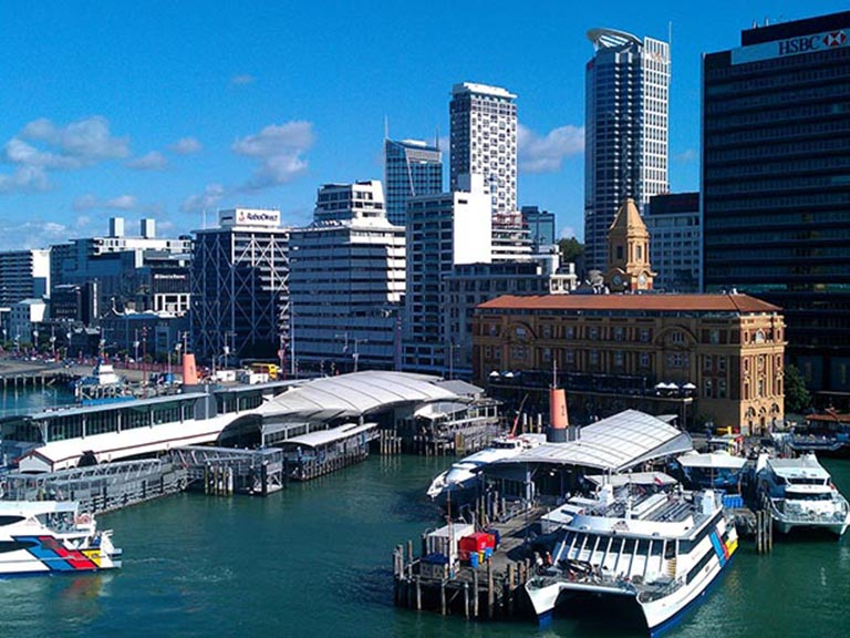 New Zealand - Auckland - Viaduct Harbour
