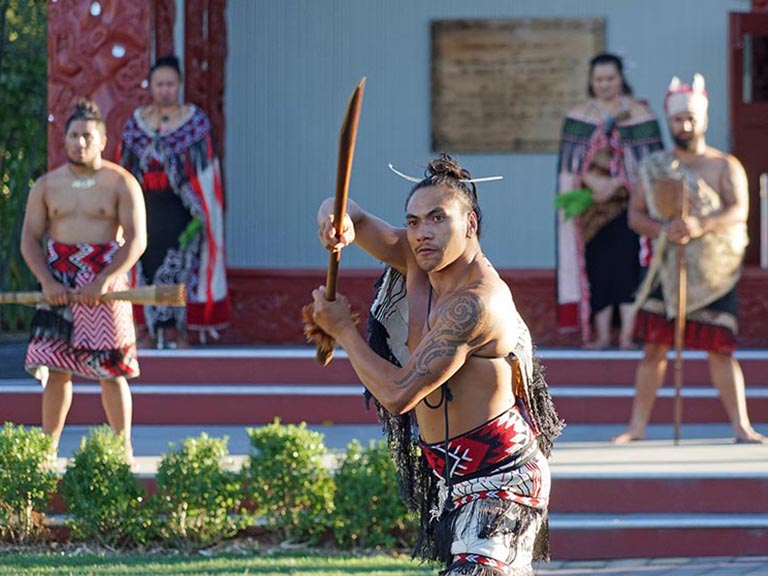 New Zealand - Māori Haka Performance