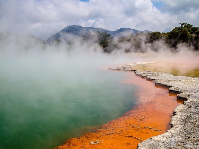 New Zealand - Waiotapu Geothermal Area