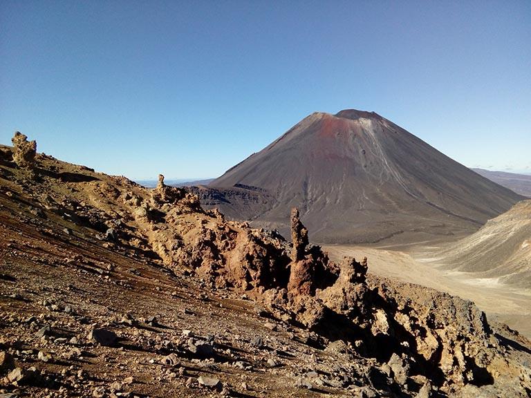 New Zealand - Mount Ngauruhoe Mount Doom