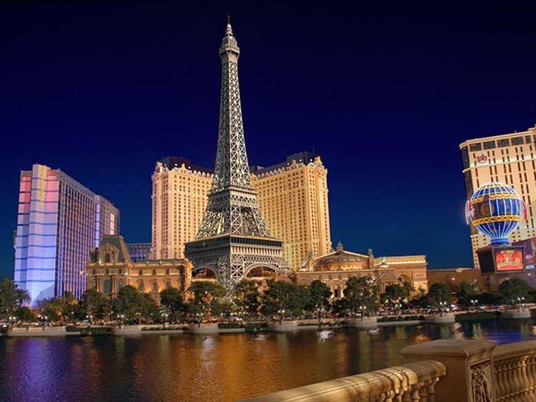 Western USA - Las Vegas - Paris Las Vegas