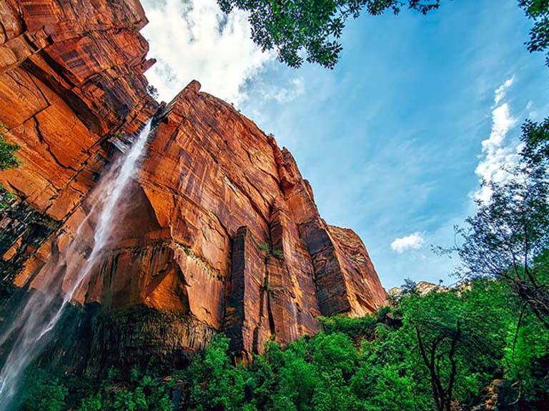Western USA - Yosemite Waterfall