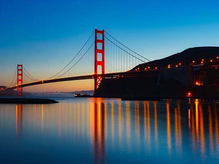 Western USA - San Francisco - Golden Gate Bridge