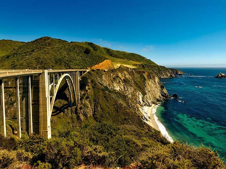 Western USA - Big Sur Coast Road