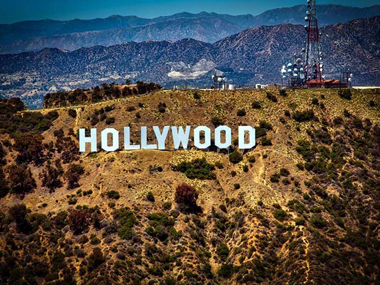 Western USA - Los Angeles Hollywood Sign