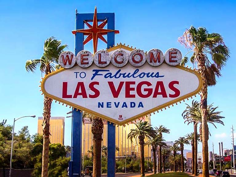 Western USA - Welcome to Fabulous Las Vegas Nevada Sign
