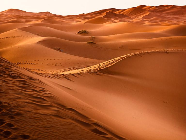 Morocco - Red Desert Sand Dunes