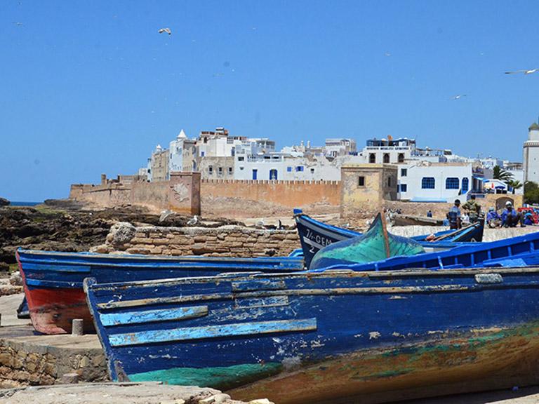 Morocco - Essaouira Blue Boats