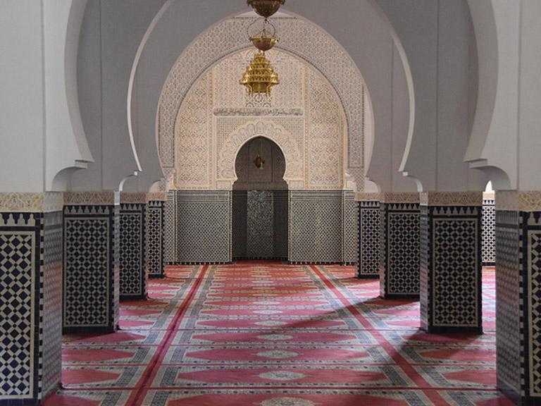 Morocco - Ornate Palace Interior