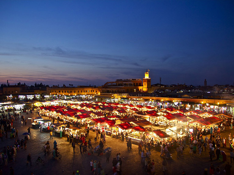 Morocco - Marrakech - Djemaa al Fna