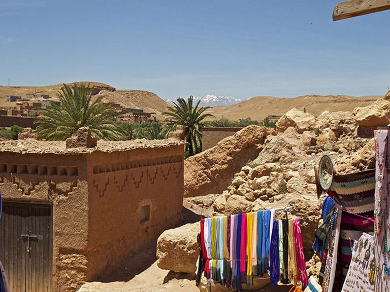 Morocco - Berber Mud Village