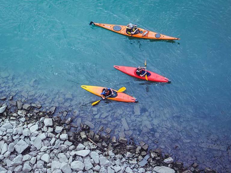 Azores - Kayaking Blue Lake