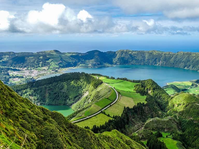 Azores - Vista do Rei
