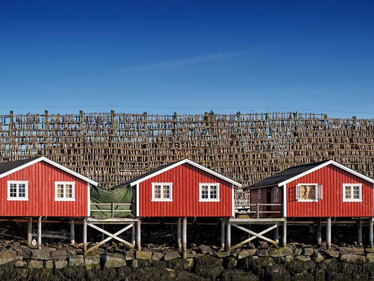 Norway - Lofoten Red Rorbu Huts
