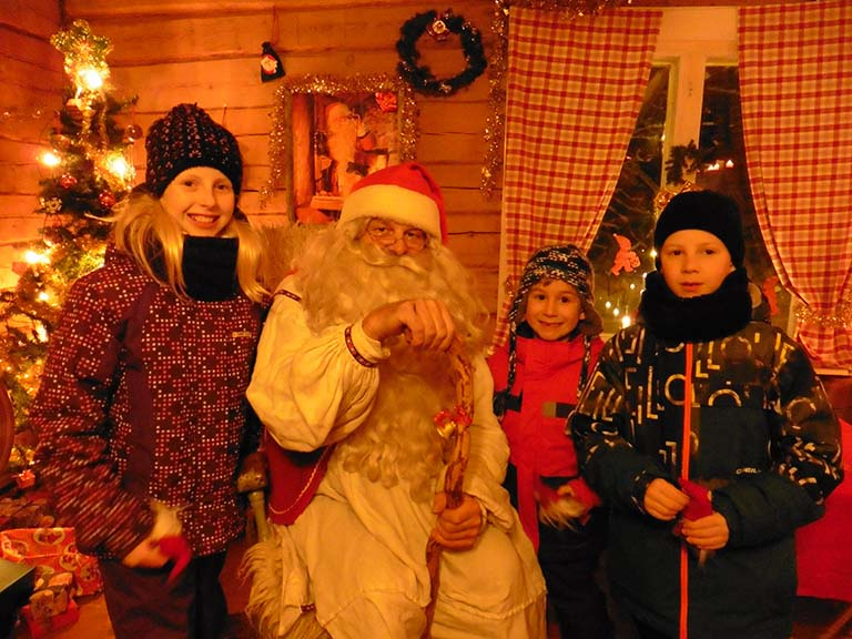 Lapland - Private Meeting Father Christmas Santa