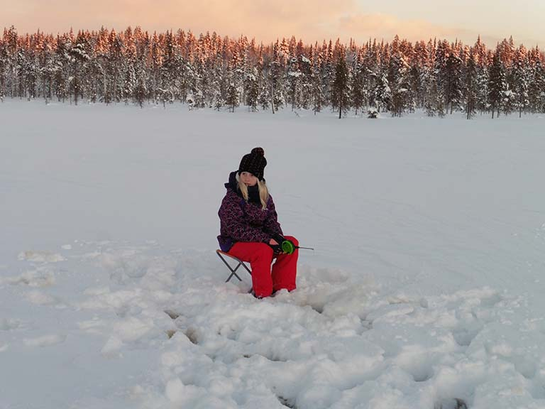 Lapland - Ice Fishing Activity