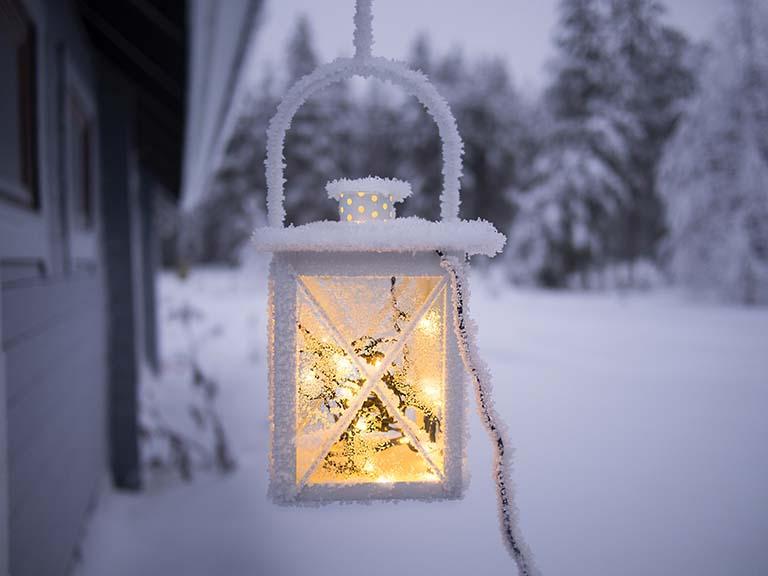 Lapland - Snow Lantern