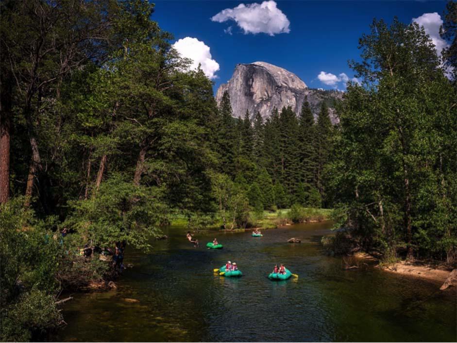 Western USA - Yosemite Rafting