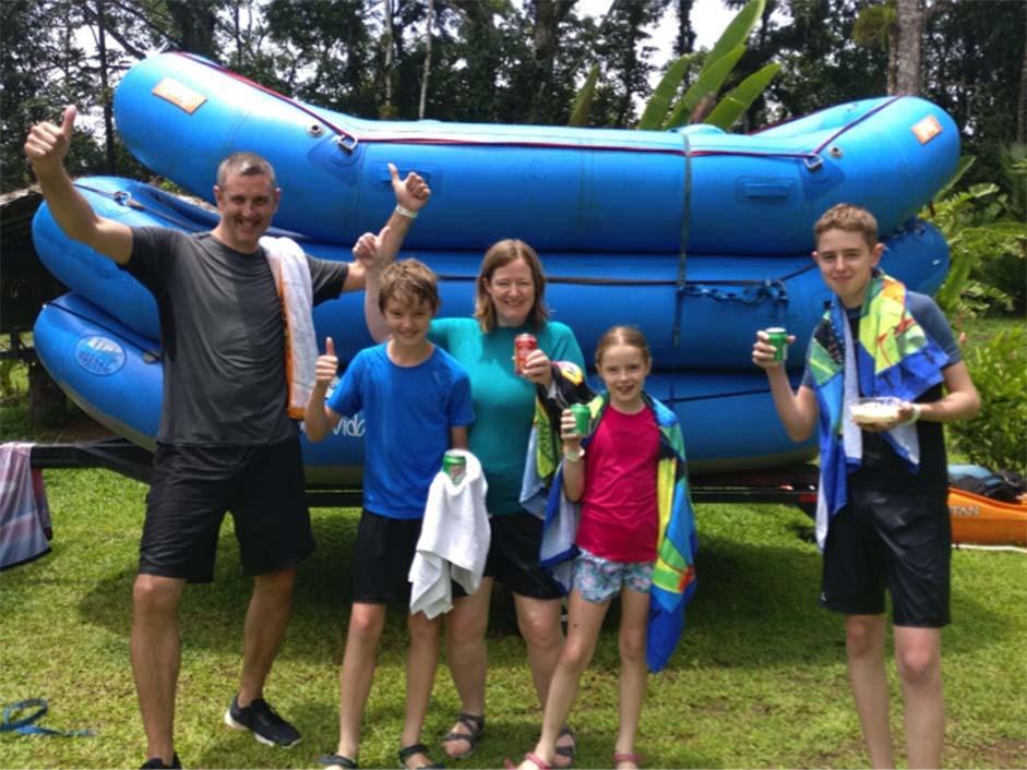 Costa Rica - White-water Rafting