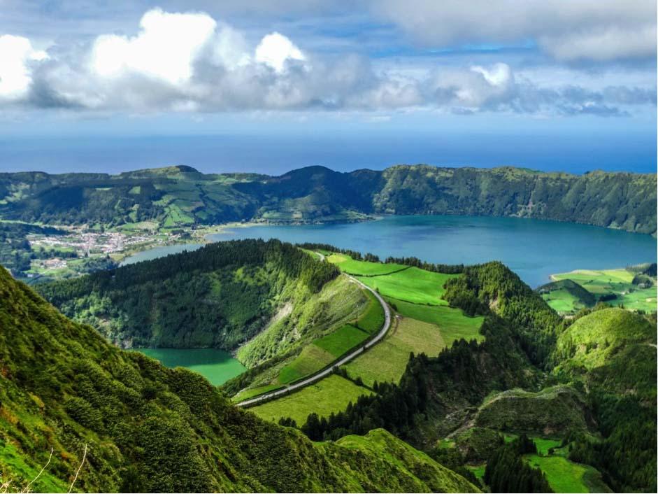 Azores - Setes Cidades Viewpoint